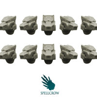 Wolves Space Knights Helmets set from Spellcrow, 2015 - Miniature accessory set review