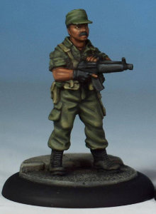 Modern soldier with sub-machine gun - Spec Ops #1 from Studio Miniatures, 2018