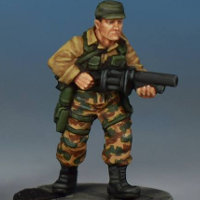 Modern soldier with grenade launcher - Spec Ops #7 from Studio Miniatures, 2018
