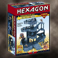 Futuristic scenery system in 1/56 scale (Hexagon for Robogear) from Tehnolog - Miniature scenery review