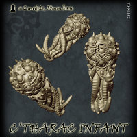 C'tharac Infants set from Tor Gaming - Miniature set review