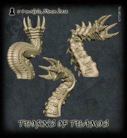 Thorns of Thamos set from Tor Gaming - Miniature set review