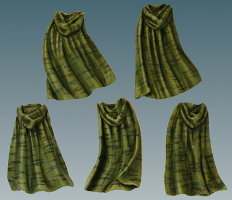Camo Cloaks from Victoria Miniatures - Miniature accessory