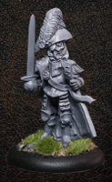 Albionnican Captain - Alternate for ArcWorlde from Warploque Miniatures
