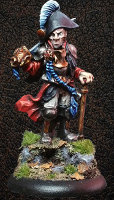 Albionnican Captain for ArcWorlde from Warploque Miniatures