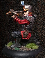 Albionnican Crossbowman #1 for ArcWorlde from Warploque Miniatures