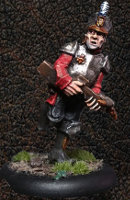 Albionnican Crossbowman #3 for ArcWorlde from Warploque Miniatures