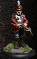 Albionnican Crossbowman #4 for ArcWorlde from Warploque Miniatures