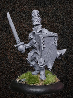 Albionnican Foot Knight for ArcWorlde from Warploque Miniatures