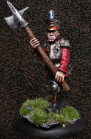 Albionnican Halberdier #2 for ArcWorlde from Warploque Miniatures
