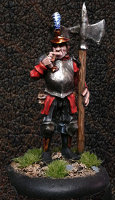 Albionnican Halberdier #3 for ArcWorlde from Warploque Miniatures