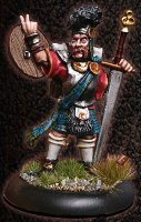 Albionnican Lowlander for ArcWorlde from Warploque Miniatures