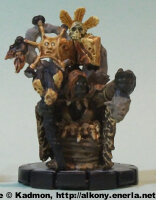 Orc witch (Nak-Kahn Witch #053) from WizKids