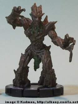 Humanoid plant (Oak Mage #047) from WizKids
