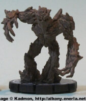Humanoid plant (Oak Warrior #022) from WizKids