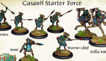 Casanii Starter Force from World of Twilight, 2016 - Miniature set review