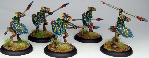 Casanii Warriors from World of Twilight