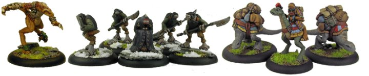 World of Twilight miniatures