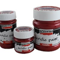 Pentart metallic acrylic paints from Pentacolor - Miniature Supply Review
